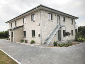 hochwertige 3-Zimmer-Wohnung mit Süd-/West-Balkon in moderner Stadtvilla mit 4 Wohneinheiten
