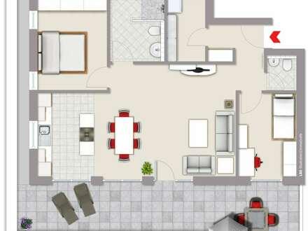 Attraktive, Penthousewohnung an den Vennegärten zu vermieten - Neubau!!