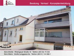 3-Familienhaus in Mainz-Weisenau Gute Lage - vielseitig nutzbar- auch Erweiterung möglich
