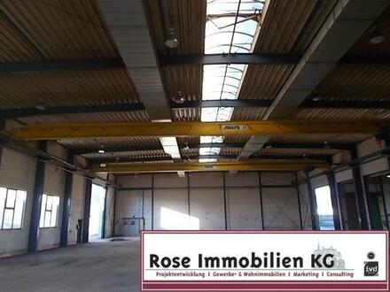 ROSE IMMOBILIEN KG: Produktion mit 2 x Kranbahn je 5t. 1 x 25 t.