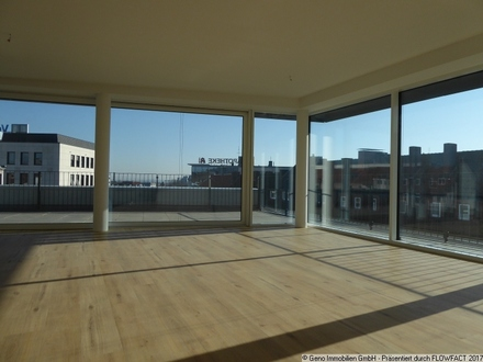 Über den Dächern der Stadt - Hochwertige Penthousewohnung in der Bielefelder Innenstadt