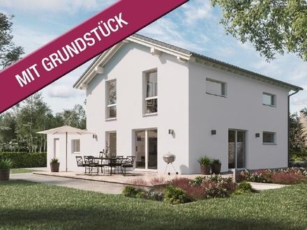 Modernes Familienhaus in idyllischer Lage (inkl. Grundstück & KfW 55)