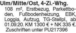 Ulm/Mitte/Ost