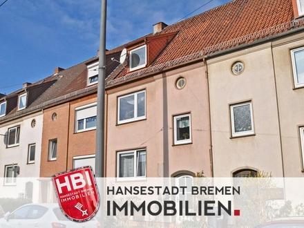 Walle / Schönes Reihenhaus mit drei Wohnungen in zentraler Lage