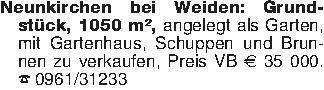 Neunkirchen bei Weiden: Grunds...