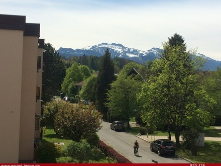 freier, unverbaubarer Bergblick vom Südbalkon