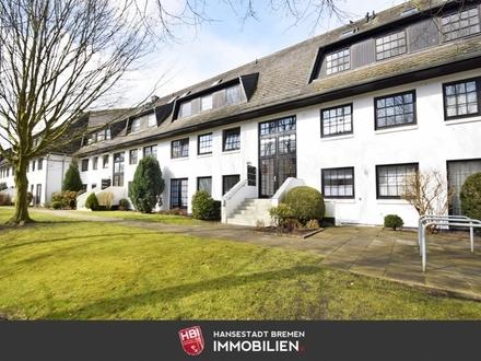 Sebaldsbrück / Kapitalanlage: Charmante Maisonettewohnung in grüner Lage