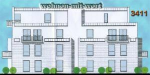 Provisionsfreie Penthouse-Neubauwohnung mit Aufzug