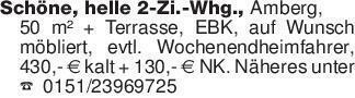 Schöne, helle 2-Zi.-Whg., Am...