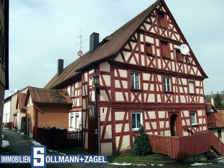 Denkmalschutz! 2-Zi.-Wohnung in Wilhermsdorf!