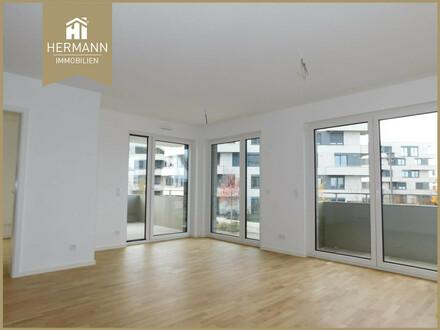 Neubau Erstbezug! 3-Zi.-Whg. mit EBK und 2 Balkonen in Frankfurt-Riedberg