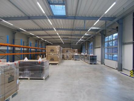 ROSE IMMOBILIEN KG: Lager-/Produktionshallen mit moderner Verwaltung und PV - Anlage!