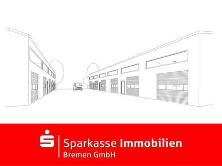 Neubau Gewerbehalle im Industriepark Bremen-West, teilbar ab ca. 90m ²