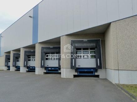Funktionales Rampenlager mit integrierten Büroflächen