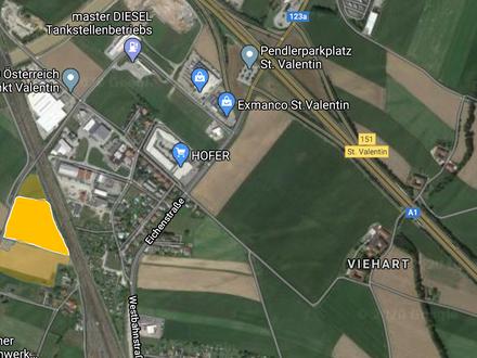Perfekte Lage für ihre Firma: Betriebsbauland / Firmengrundstück/ Autobahn Linz OÖ/ AM-NÖ