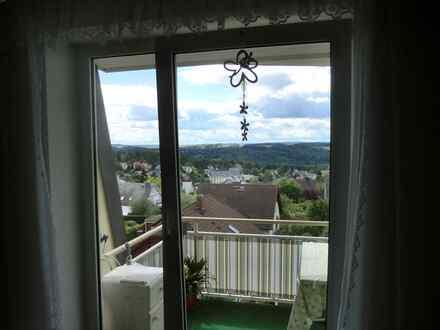Herrliche 2 Zimmerwohnung mit Panoramablick