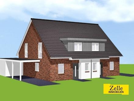 Neubau-Doppelhaushälften in Top-Lage am Syker Stadtrand