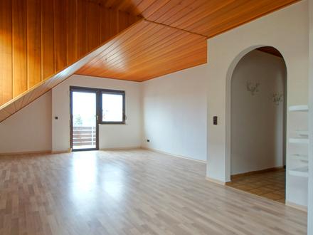 Perfekt geschnittene 3-Zimmer-Dachgeschosswohnung in Trebur-Astheim