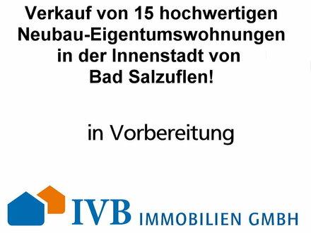 Verkauf von 15 hochwertigen Neubau-Eigentumswohnungen in zentrumsnaher Lage von Bad Salzuflen - in Planung!