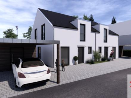 Tolle Neubau-Doppelhaushälfte – ruhig und zentral in Leonberg!