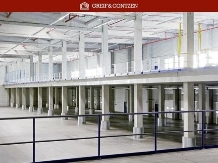 PROVISIONSFREI + + Projektierte Hallen- und Büroflächen