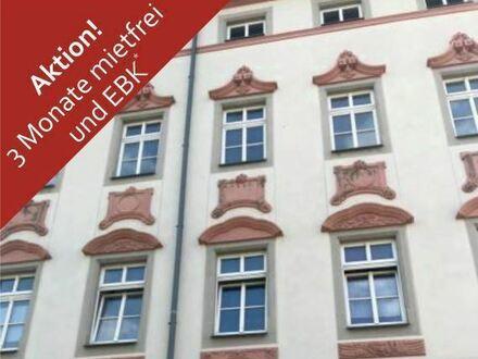 +++ Im Sommer einziehen, im Herbst bezahlen! 2 Zi.-Wohnung mit EBK u. Laminat in Innenstadtlage! +++