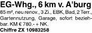 Wohnung 85m² in 63743 Aschaffenburg