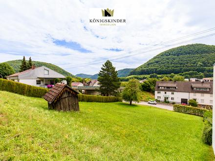 Sonniges Baugrundstück in schöner Hanglage von Mühlhausen im Täle für 1-2 Häuser
