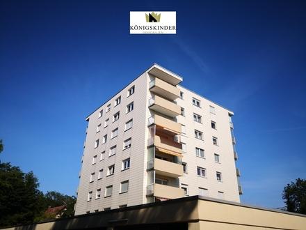 Barrierefrei in herrlich, ruhiger Waldrandlage!!! Schicke 2 Zi.-Wohnung mit Balkon + Stellplatz.
