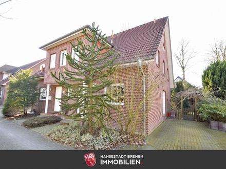 Oberneuland / Gepflegte Rotklinker-Doppelhaushälfte mit Südgarten