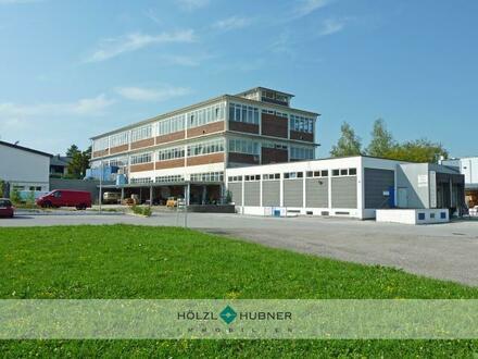 flexible Hallenflächen in ehemaligen Industriebetrieb