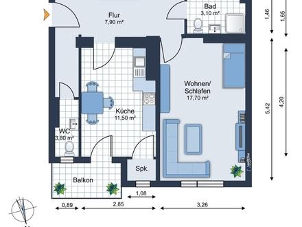 verfügbar ab Oktober - gemütliche Eigentumswohnung mit Balkon