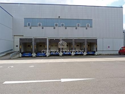 ANMIETUNG ÜBER GREIF & CONTZEN ++ Moderne Lagerhalle mit Büro-/Sozialräume