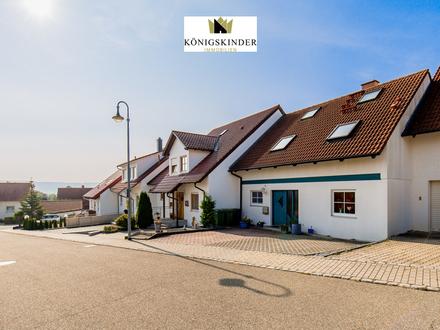 Modernes Einfamilien-RMH von Luxhaus mit großzügigem Garten in begehrter Lage von Mühlacker