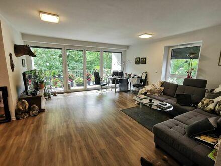 3,5-Raum-Wohnung mit Balkon und Einbauküche