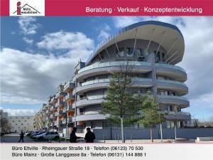 Moderne, neuwertige Eigentumswohnung mit Aufzug und Balkon in Gonsenheim