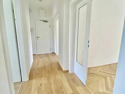 Klagenfurt - Waidmannsdorf: schöne, neu renovierte & großzügige 3-Zi-Wohnung im 1.OG (Gartenbenützung möglich)