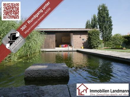 Einfamilienhaus mit Schwimmteich in Greffen