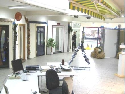 MAINZ-WEISENAU ~ 700 m² Gewerbefläche (400 m² Verkauf/Büro + 213 m² Lager + Nebenfl. + Parkfl.)