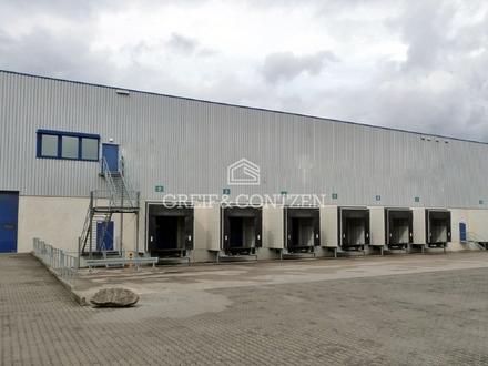 ANMIETUNG DURCH GREIF & CONTZEN - Moderne Logistikhalle in Top-Lage