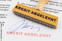 Häufige Ablehnungsgründe für einen Kredit