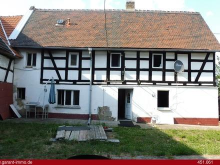 Fachwerkhaus südlich von Leipzig sucht neuen kreativen Eigentümer