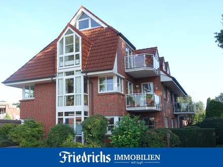 Aufwendig renovierte Dachgeschosswohnung mit ausgebautem Spitzboden in Bad Zwischenahn