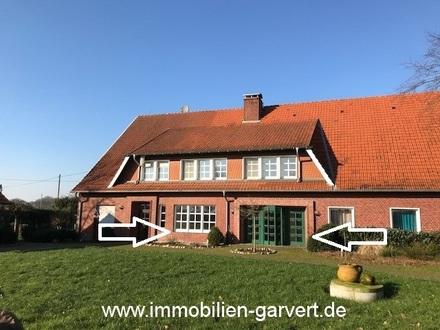 """Vermietung - Wohnen auf dem Bauernhof! """"Haus im Haus"""" mit Terrasse und Garten in Borken-Hoxfeld"""