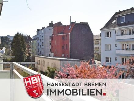 Bremerhaven / Helle 3-Zimmer-Wohnung mit Einbauküche und Balkon in zentraler Lage