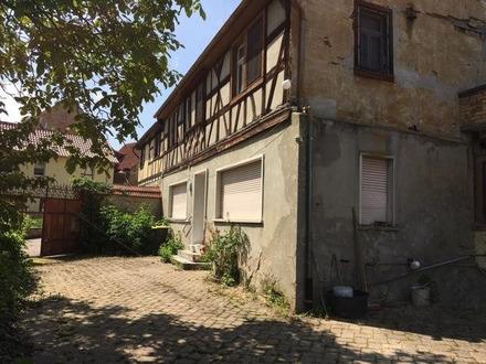 Fachwerkhaus aus 1650 mit Denkmalschutz