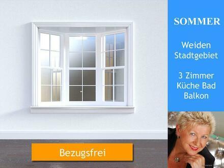 Weiden > 3 Zimmerwohnung mit Balkon mieten