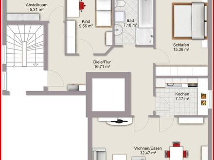 Wohnung in Wallerfing