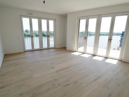 Sensationelle 3 Zi.-Wohnung in bester Lage am Rheinufer. Um diesen Ausblick wird man Sie beneiden!