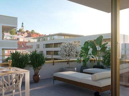 Wo Wohnen Wohlfühlen heißt: Penthouse in den Brauhöfen Passau